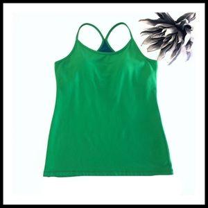 🍋Lululemon • Power Y Tank • In Athletic Green